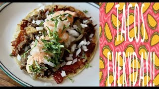 Taco Tuesday: Lamb Tacos, Árabes Style at Cruz Blanca Brewery