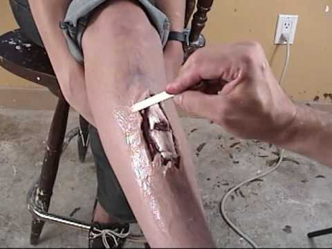 Silicone Makeup: Compound Fracture