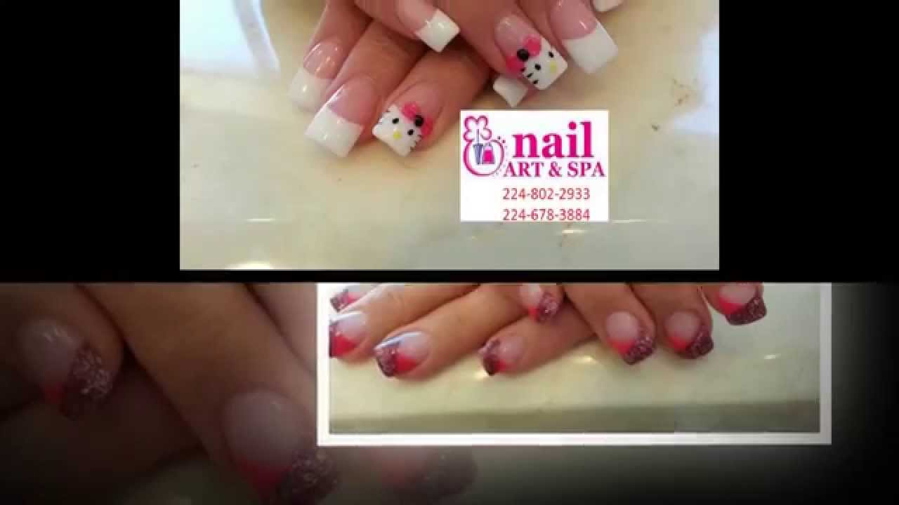 Nail Art and Spa in Elgin, IL 60123 (636) - YouTube