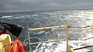 North sea rough weather rescue.