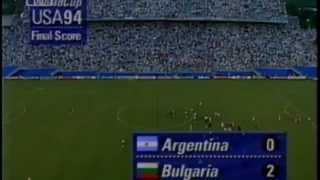 Футбол Аржентина - България 1994 - Целият мач
