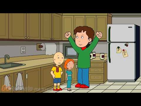 Caillou's Christmas in animation