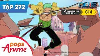 One Piece Tập 272 - Luffy Trong Tầm Ngắm | Trận Đại Chiến Trên Nóc Nhà Tòa Án - Phim Đảo Hải Tặc