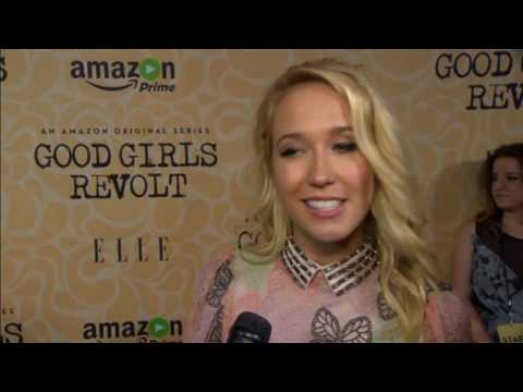 Download Cast of Amazon's series Good Girls Revolt say the series is relevant thanks to presidential election