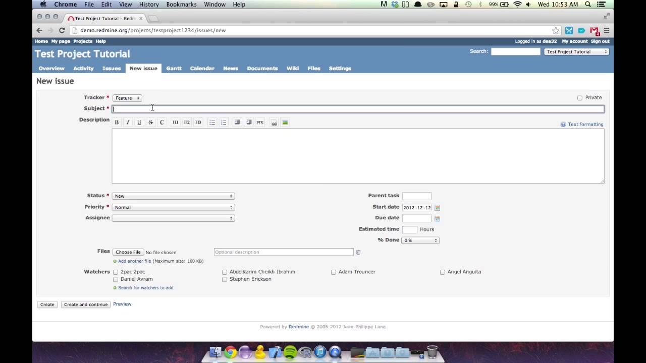 redmine tutorial youtube