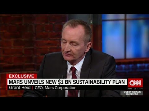 Mars CEO finds voice on climate change