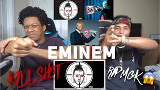 OMG EMINEM WHY YOU DO HIM LIKE THAT 😱EMINEM  KILLSHOT [Official Audio]