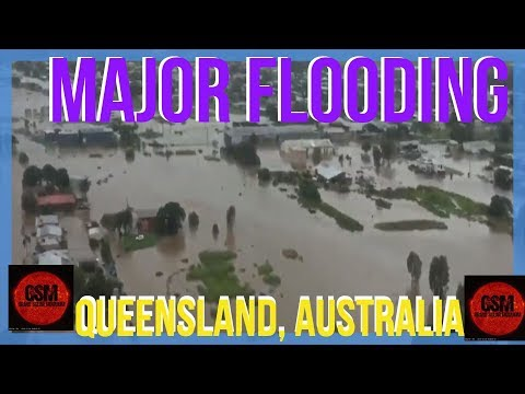 GSM - M A J O R Flooding in Queensland, Australia
