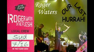 ROGER WATERS 16th July 2000 Centro Cívico de Providence, Providence, Rhode Island      #PabloFlaming