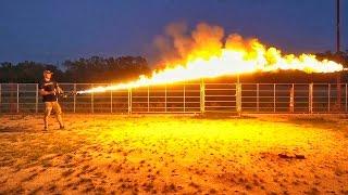 Портативный огнемет за 1200 баксов! | Разрушительное ранчо | Перевод Zёбры