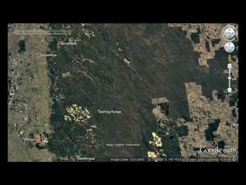 Mining In Darling Range, Western Australia