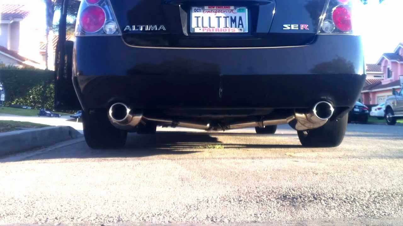 Maxima Cat Back Exhaust