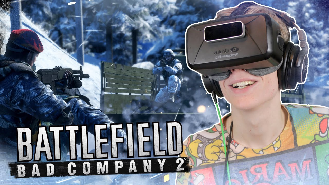 VR SHOOTER ON IT'S BEST | Battlefield: Bad Company 2 (Oculus Rift: DK2)