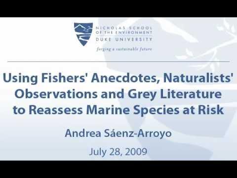 Reassess Marine Species at Risk
