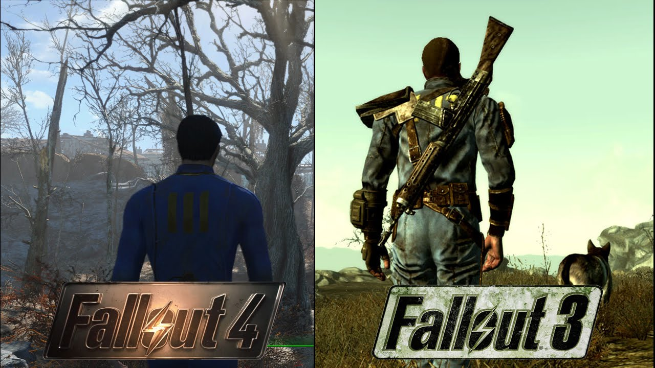 Fallout 4 Takes Place At The Same Time As Fallout 3? - YouTube