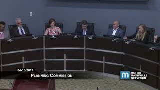 04/13/17 Planning Commission Meeting