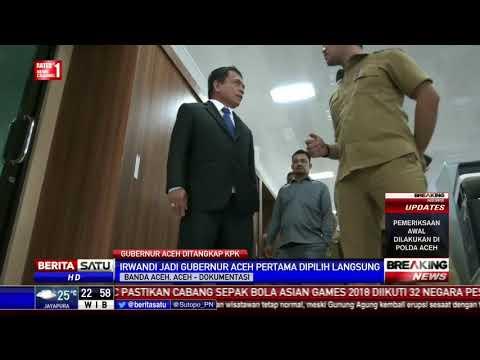 Jejak Karier Gubernur Aceh Irwandi Yusuf