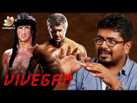 Ajith is the Sylvester Stallone of India : Vivegam   Cinematographer Vetri Interview | Thala 57