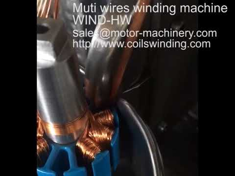 Muti wires parallel winding machine WIND HMW Success Shanghai Wind Automation