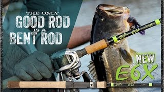 g loomis e6x rods   clearh2o tackle review