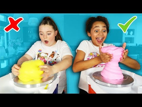 DIY Slime Pot - Satisfying Pottery Spinning Wheel