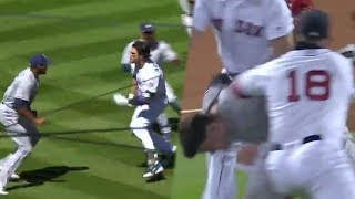 INSANE Back-To-Back MLB FIGHTS Clear Dugouts!