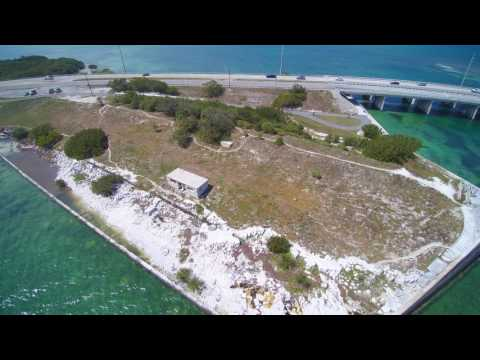 Florida Keys Overseas Highway Aerial Drone Video - Typhoon 4K