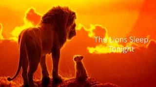 Gambar cover The Lion Sleeps Tonight Lion King Lyrics Video - Billy Eichner & Seth Rogen