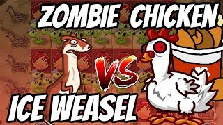 Chickening vs Weaseling??? | Peashooter Challenge | Plants vs Zombies 2 Epic MOD