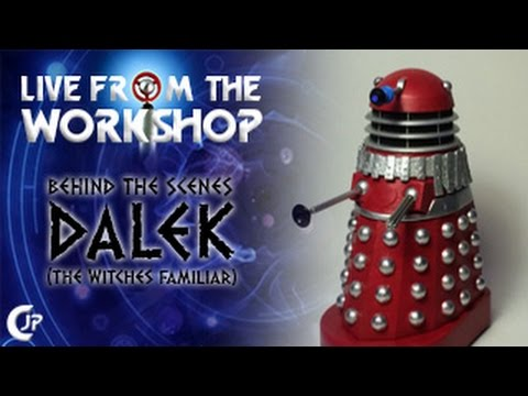 Live From The Workshop : Behind The Scenes Dalek (The Witch's Familiar)