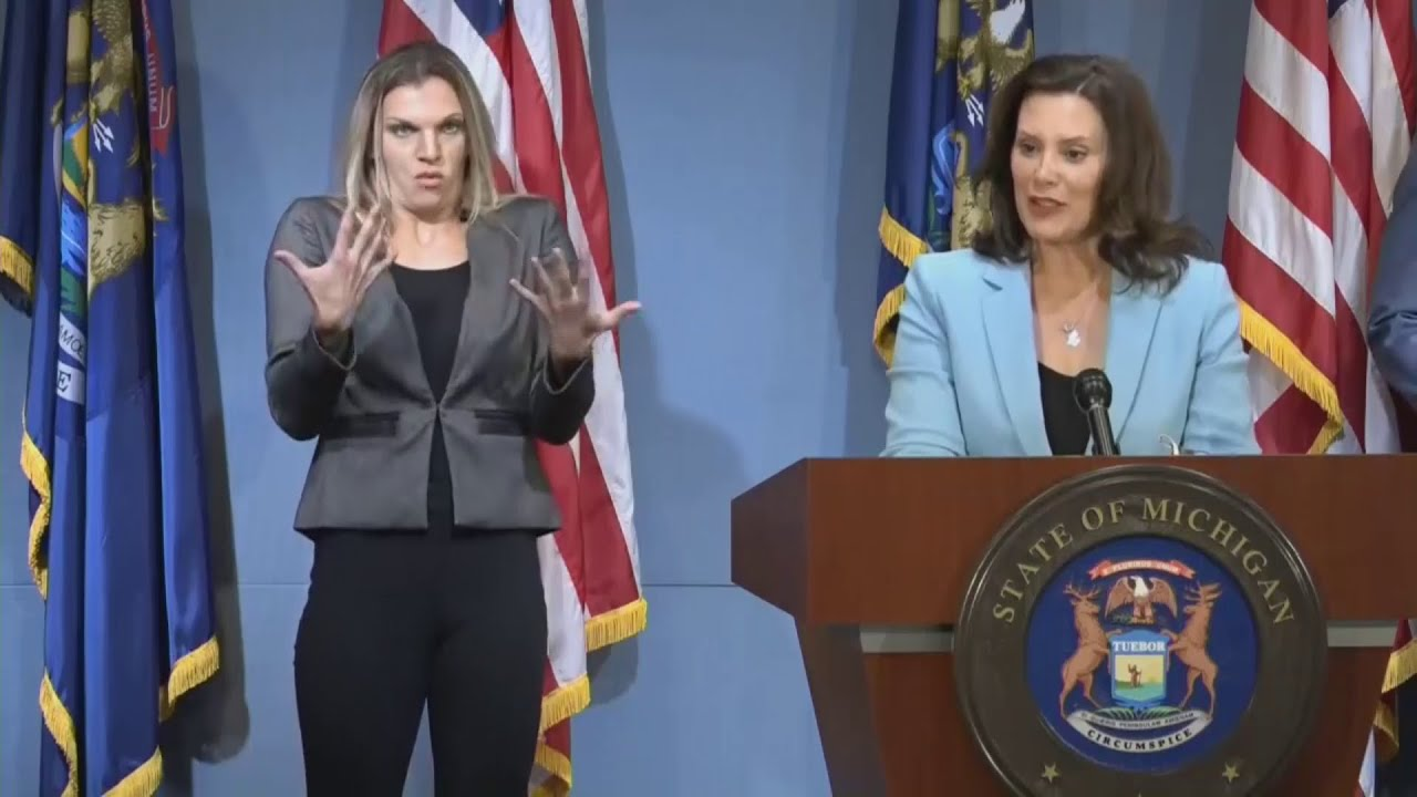 Gretchen Whitmer Enacts Measures To Combat Inequality In Medicine Press Conference July 9 2020 Greater West Bloomfield Civic Center Tv