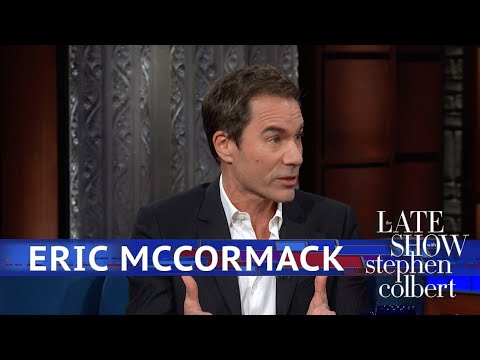 Eric McCormack Has A Fitting Walk Of Fame Neighbor Mp3