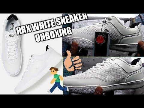 Hrx white sneaker unboxing (hindi)