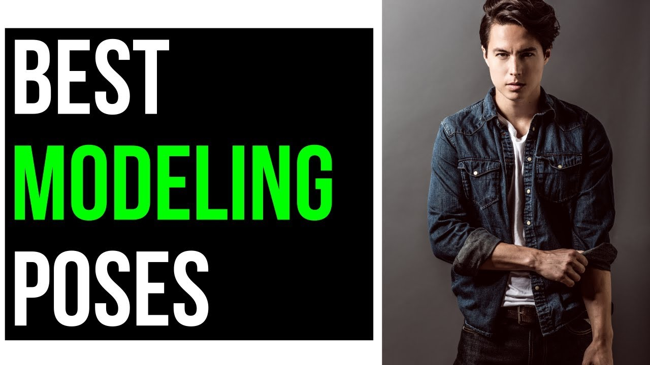 Mens Modeling Poses For Beginners 2018 (Photoshoot Tips)