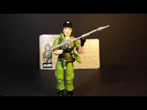 HCC788 - 1985 Covert Operations LADY JAYE - Vintage G. I. Joe toy review! HD