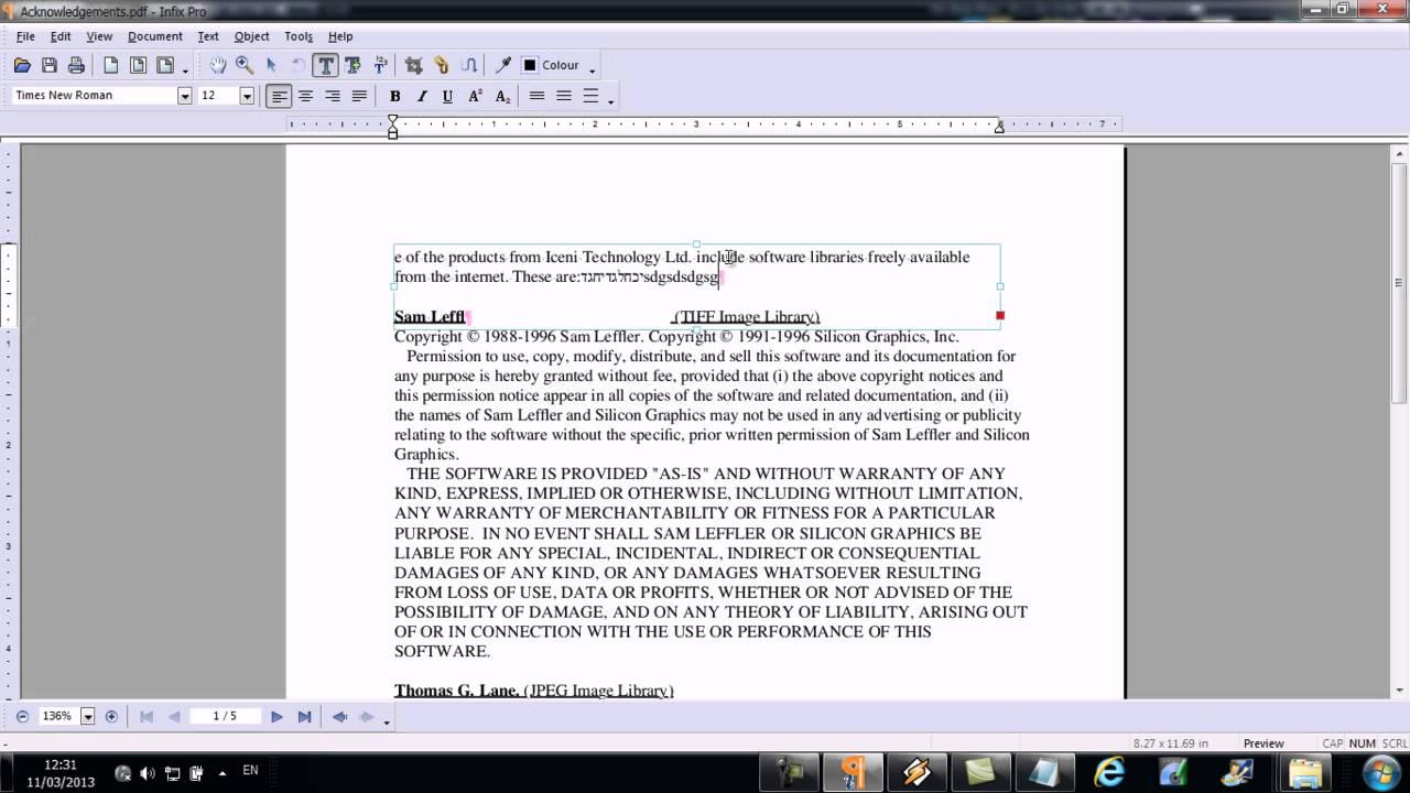 Infixpro Pdf Editor V4.06