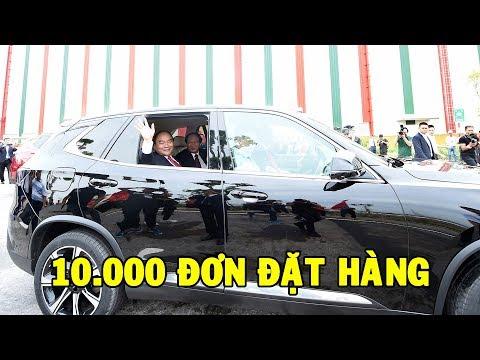 ✅ Quá kinh khủng: Chỉ với niềm tin VinFast đã nhận được đơn đặt hàng hơn 10 000 xe ô tô