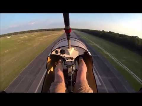 Flying the New Jersey shore on a North Wing Maverick Legend with Solairus wing