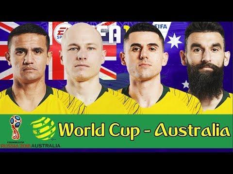 AUSTRALIA WORLD CUP FULL SERIES!!! FIFA 18: AUSTRALIA 2018 WORLD CUP CAREER MODE!