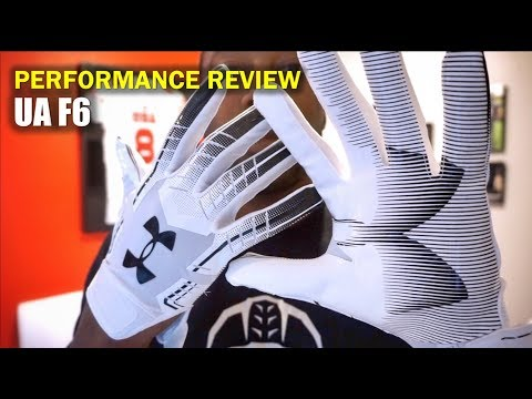 UA F6 Football Gloves: Performance Review