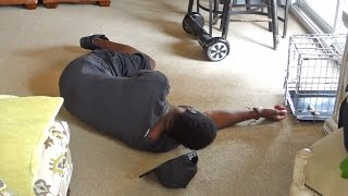 HOVERBOARD CHALLENGE FAIL!
