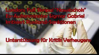 Fall Skripal: Ex-Außenminister Gabriel kritisiert Russland-Sanktionen - Unterstützung für Verheugen