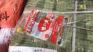 Hà Nội : Bắt gần 1 tấn bao bì mì chính, bột canh có dấu hiệu làm giả nhãn hiệu | Tin nóng 24H