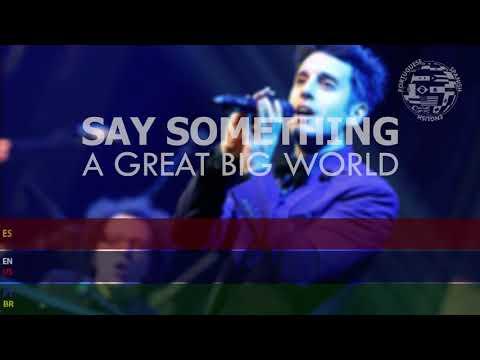 A Great Big World Say - Something SUBTITULADA Inglés Español Portugués