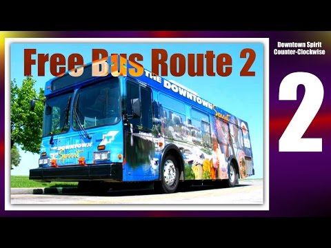 Downtown Winnipeg   21   Free Bus Route 2 Downtown Spirit (Counter-Clockwise)   May 2016