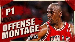 Michael Jordan EPIC Offense Highlights Montage 1992/1993 (Part 1) - Simply the BEST!
