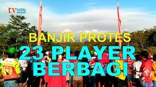 BANJIR PROTES!!! 23 BURUNG BERBAGI DI NASIONAL LAPAK TUNDAGAN PADAHERANG PANGANDARAN