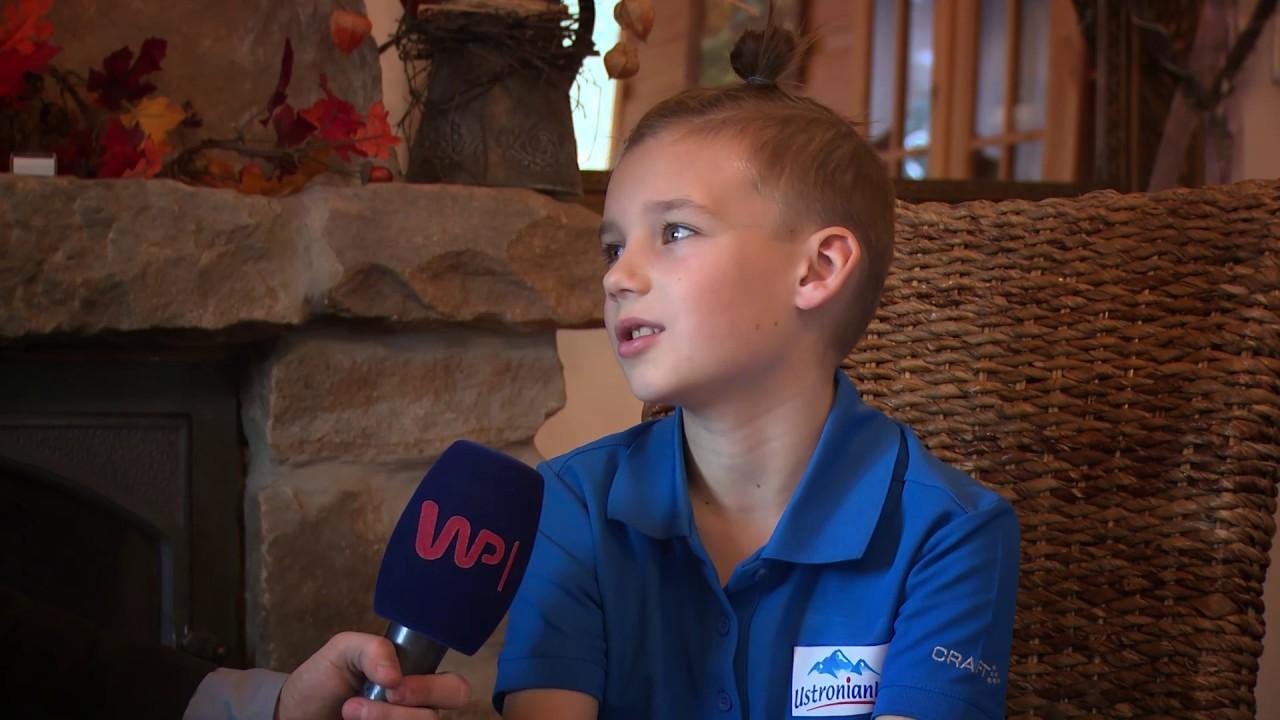 9-letni Polak podbija świat skoków narciarskich. W Europie nie ma sobie równych