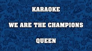 Baixar We are the champions - Queen - KARAOKE