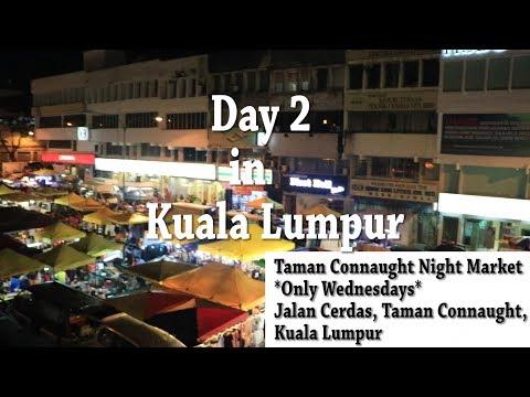 My Malaysia Trip: Day 2 ✈ Night Market in Kuala Lumpur and Eating Stinky Tofu ✈ Luna Mach